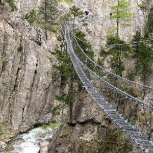 Claviere: Ponte Tibetano Cesana Claviere