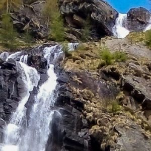 Alagna Valsesia: Cascate dell'Acqua Bianca