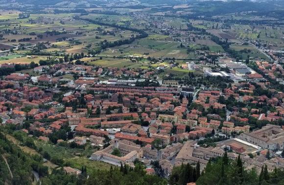 Gubbio: Monte Ingino