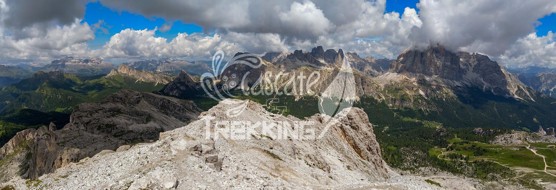 Cortina d'Ampezzo: Ferrata Averau - Cascate & Trekking