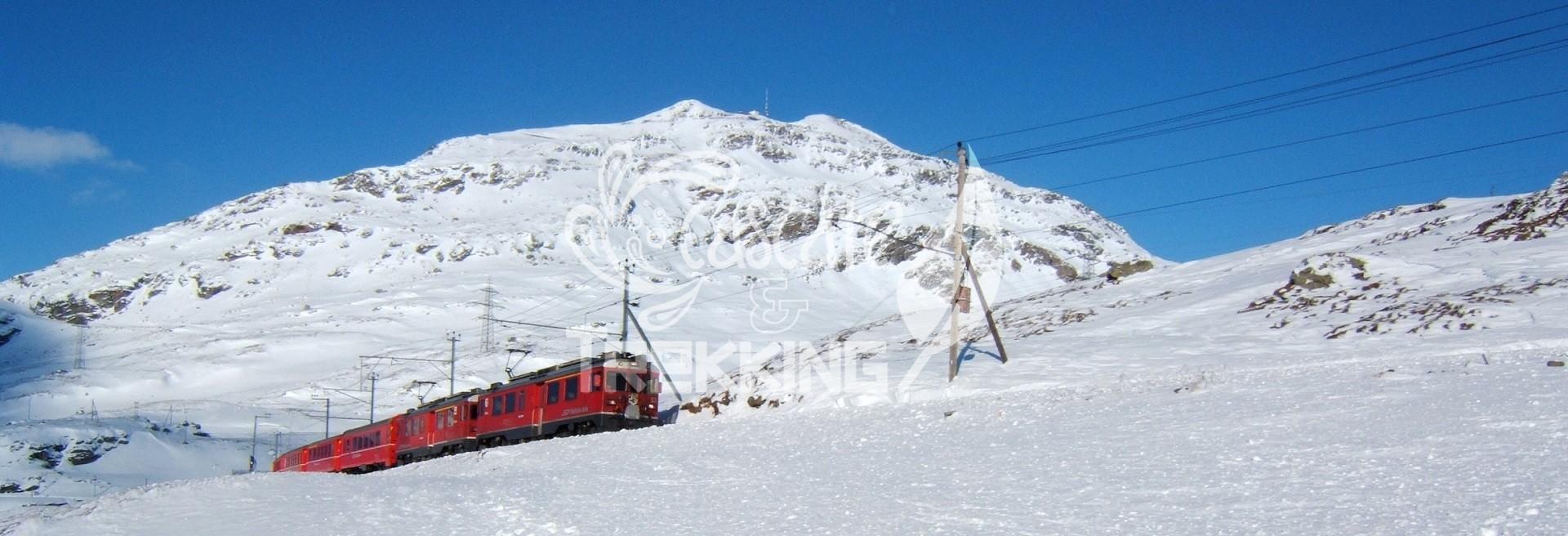 Pontresina: Lago Bianco Bernina