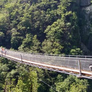 Bellinzona: Ponte Tibetano Carasc