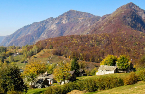Centovalli: Monti di Comino