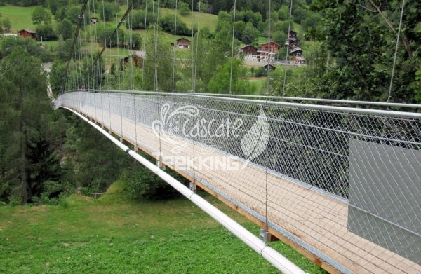 Ernen Ponte Sospeso Goms Bridge 1