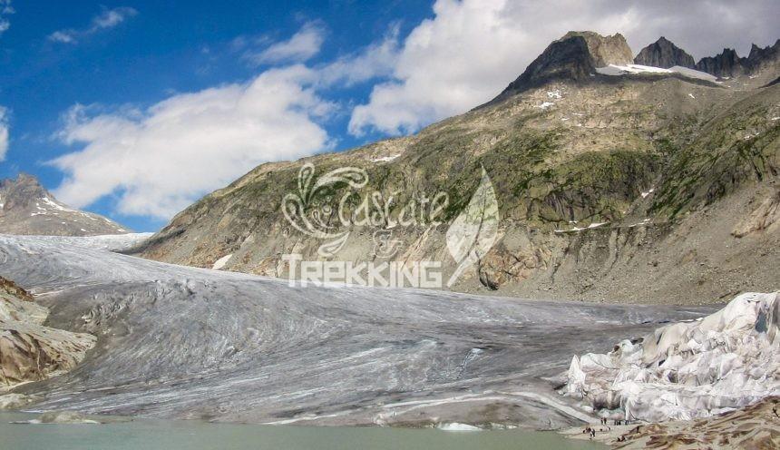 Obergoms Trekking Ghiacciaio Del Rodano Copertina